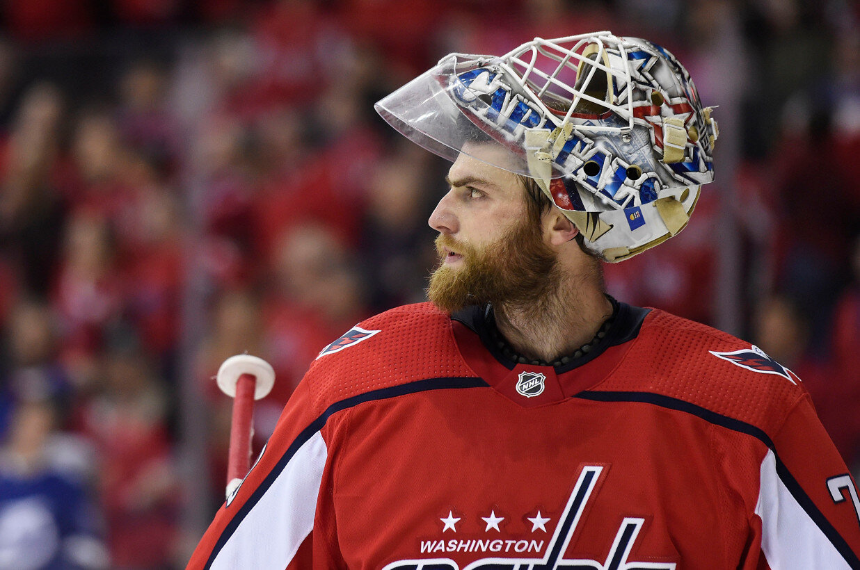 Braden Holtby: What's Wrong? — Ultimate Hockey Fan Cave